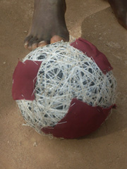condom soccer ball